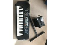 Yamaha Keyboard with stand & Amplifier