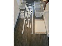 IKEA ALGOT OPEN WARDROBE SHELVING SYSTEM