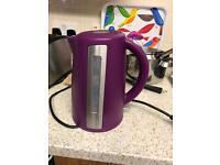 Purple quick boil kettle