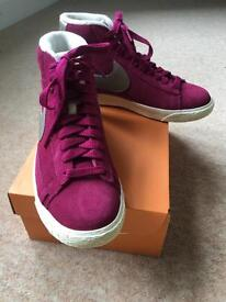 Nike blazer mid suede trainers - brand new size UK 5/38