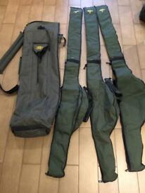 Fishrite 4 rod Quiver holdall with sleeves