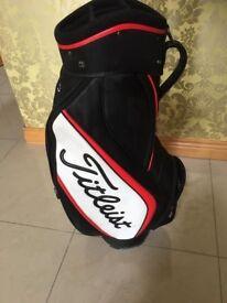 Titleist Staff Bag as New