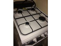 Gas Cooker single Oven Indesit white like New Fully working order