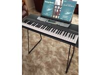 yamaha ez 200 keyboard and stand