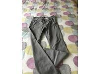 Topman skinny chinos, size W30/L32