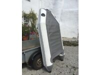 Inflatable dinghy tender, 2.25m with oars,