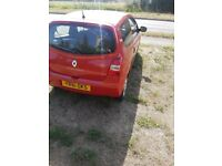 Renault twingo pzaz 2011 48,000 miles