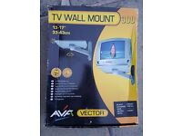 "TV Wall Mount- 13-17"" or 33-43cm complete with original packaging"