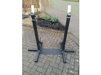 YORK WEIGHTS SQUAT STANDS HEAVY DUTY