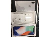 Iphone X, 64gb, White, Unlock