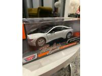 Bmw I8 Coupe 1/24 Die Cast Model New In Box Bmw Official Merchandise 2018