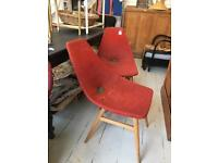 Retro vintage pair of chairs *closing down sale *
