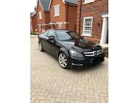 Mercedes-Benz C220 2.1 CDI AMG sports coupe