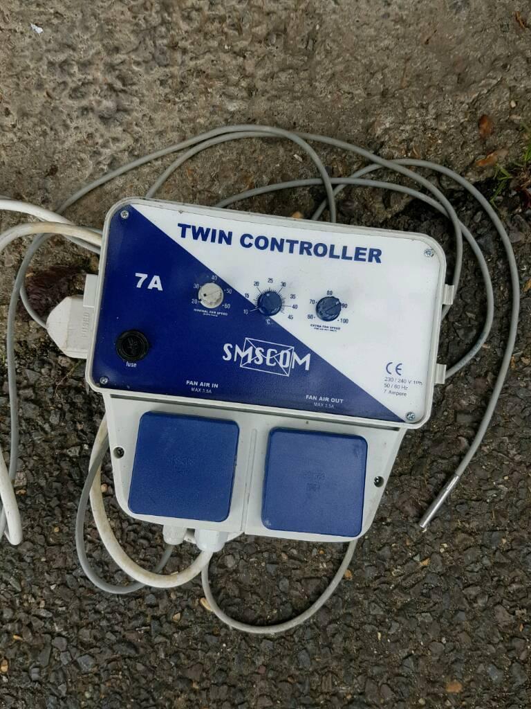 Twin Fan Controller smscom