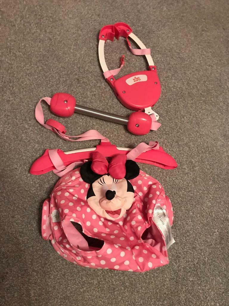 3e96d60ae4fe Bright stars Minnie Mouse door bouncer