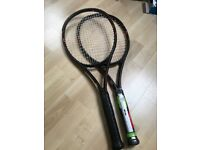 TENNIS - WILSON BURN FST 99S x2 BRAND NEW. Originally $269 per racquet