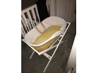 Moses Basket and Stand (John Lewis)