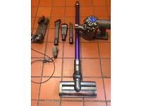 Dyson DC 59 Animal Cordless cleaner with all attachments.