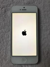 IPhone 5,16GB silver simfree