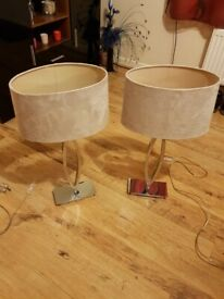 Lamps in very good condition and working order