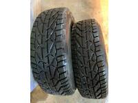 2 195/65/15 winter tyres (NEW)