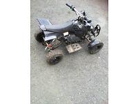 Black mini Moto quad parts or repairs