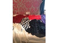 Size6-8 skirts ,tops&dresses