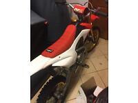 Yx160 pitbike crf110 frame