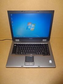 TOSHIBA SATELLITE A120 LAPTOP INTEL CORE 2 DUO 1.8GHZ 60GB WIN 7