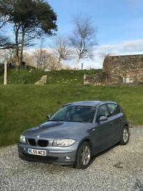 BMW 1 series 118i in grey
