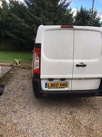 WHITE CITREON DISPATCH VAN , RADIO , CD , ROOF RACK , CENTRAL LOCKING 68000 MILES
