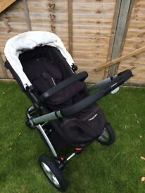 Mothercare my 4 pushchair and rain cover