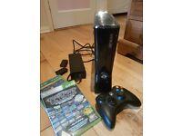 Xbox 360 plus 2 games