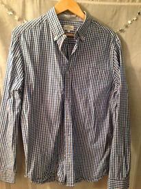 Men's checked (next) XL shirt