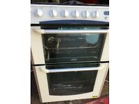 Belling gas cooker 60 cm white... free delivery