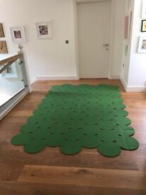 Green Rug - great for kids