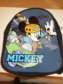 A Genuine Disney Sport Mickey Mouse Kids Back Pack