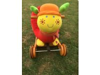 MAMAS & PAPAS LOTTIE RIDE ON / ROCKER MUSICAL ACTIVITY TOY