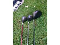 Driver, 3 woods