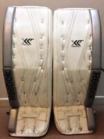 Selling Reebok XLT Pro Return Goalie Pads - Martin Jones.