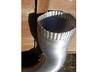 aluminium extraction pipe