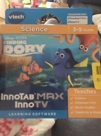 Innotab max / inno TV finding dory game vtech