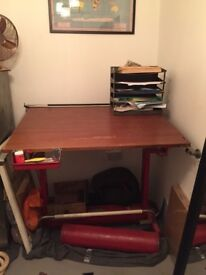 Stunning vintage architect drafting table / desk!!!