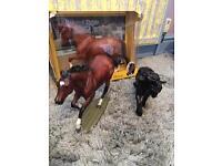 3 Breyer horses for sale