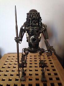 40cm Metal Predator Figure