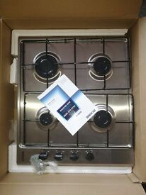 New hob BEKO,- Length: 60 cm 4 burners Enamel cup holders Automatic ignition ONE YEAR GUARANTEE
