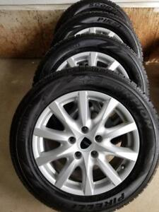 PORSCHE CAYENNE MADE IN GERMANY 18 INCH WHEELS WITH PIRELLI SCORPIAN ULTRA HIGH PERFORMANCE 255 / 55 / 18WINTER TIRES