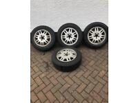 Mercedes alloy wheels and new tyres