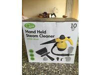 Hand held steam cleaner
