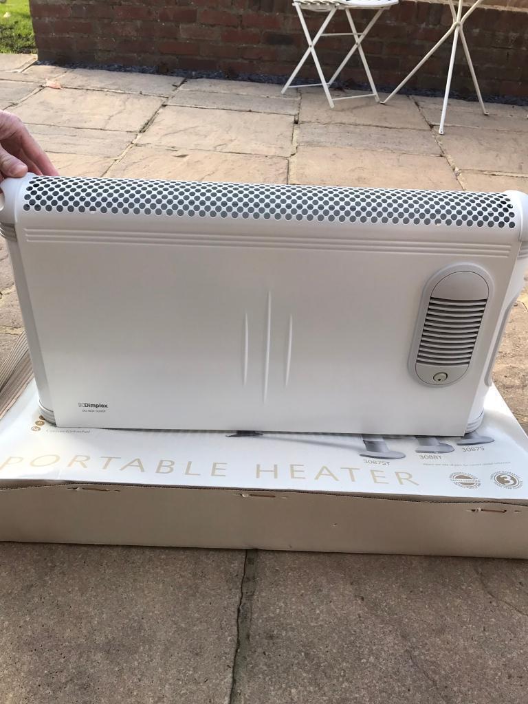 Dimplex portable electric heater
